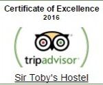sir tobys tripadvisor award