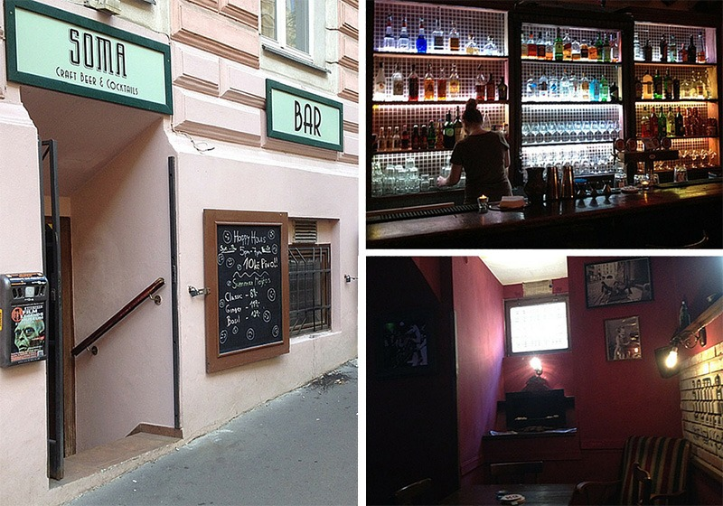 soma bar prague