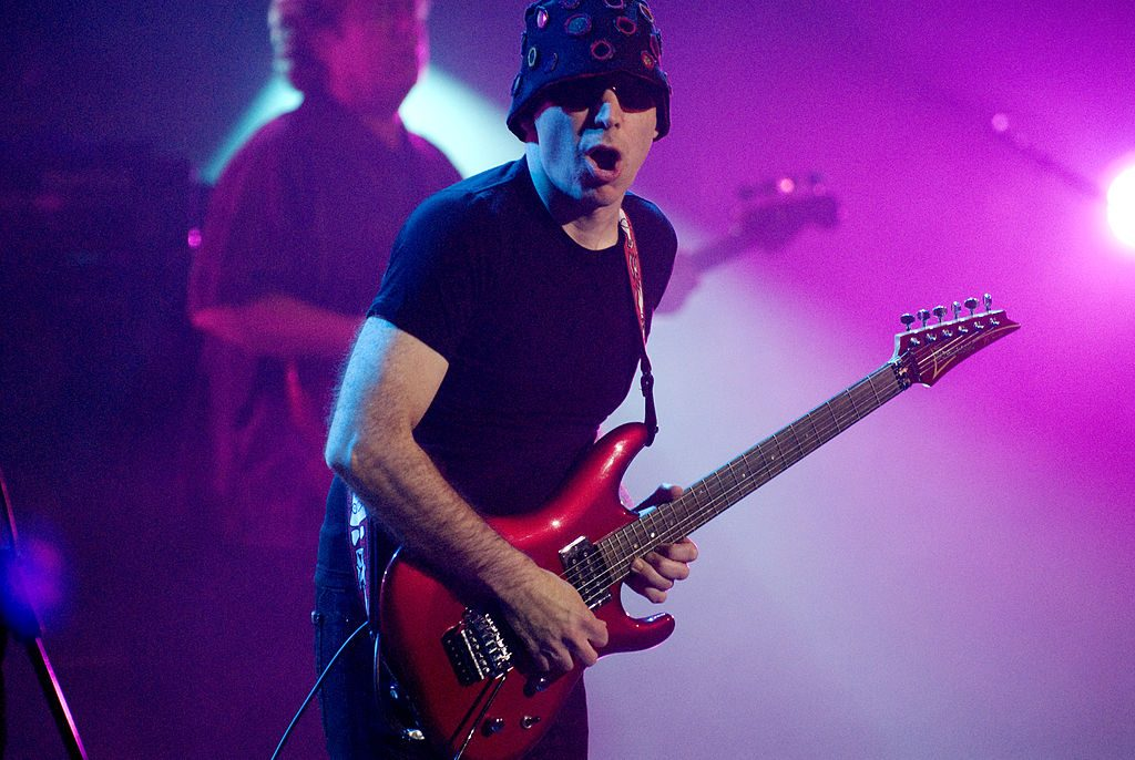 City-wide light show and Joe Satriani this weekend in Prague!