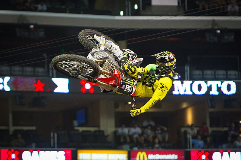 Freestyle motocross at FMX Gladiator Games and Simply Red this week in Prague