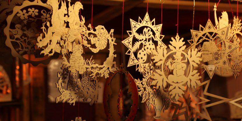 Handmade Christmas decorations. Photo by Richard Hodonicky
