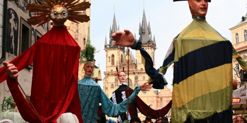 Prague Old Town Carnival. Photo by Richard Hodonicky