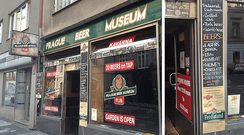 beer museum prague