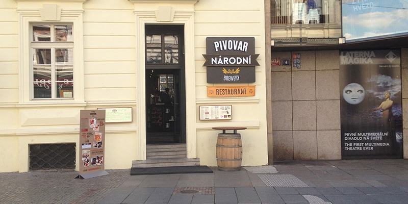Microbrewery Pubs in Prague