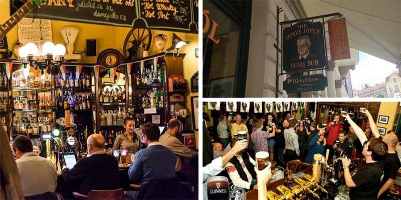 james joyce irish bar prague