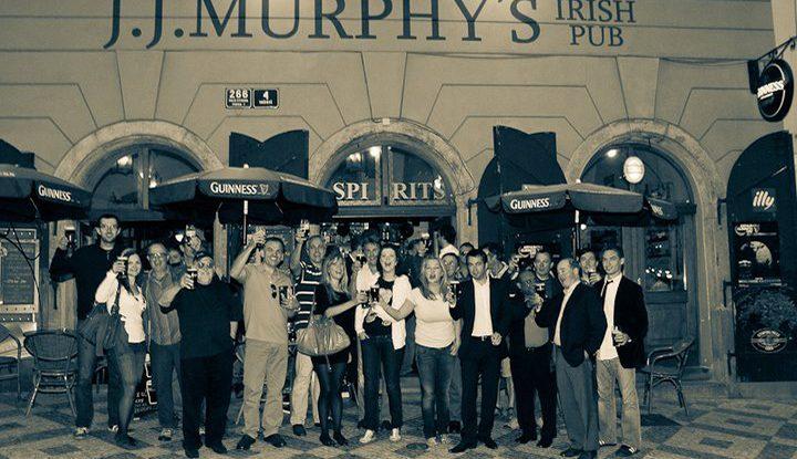 jj murphys irish bar prague