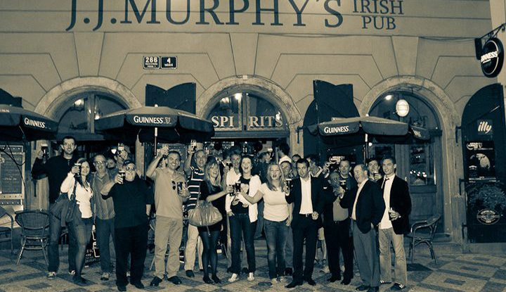 jj murphys irish bar prague