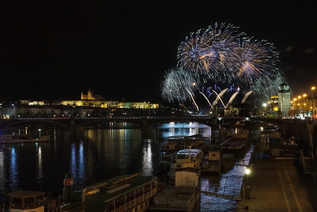 New Year's Eve 2016 in Prague