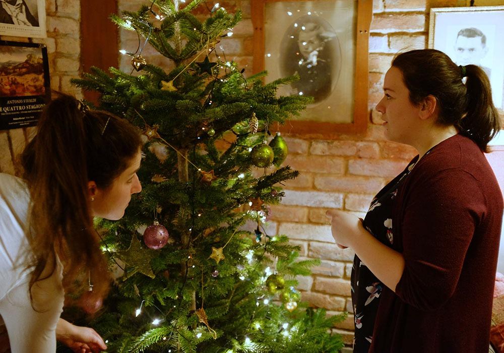 sir tobys hostel prague christmas tree