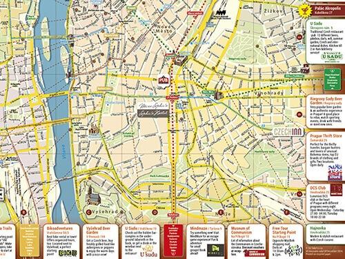 prague customised map