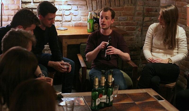 sir tobys hostel prague beer tasting
