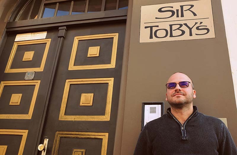 sir tobys hostel prague with mathias